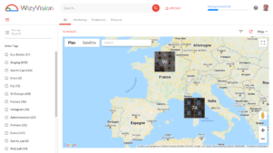Geolocated digital assets