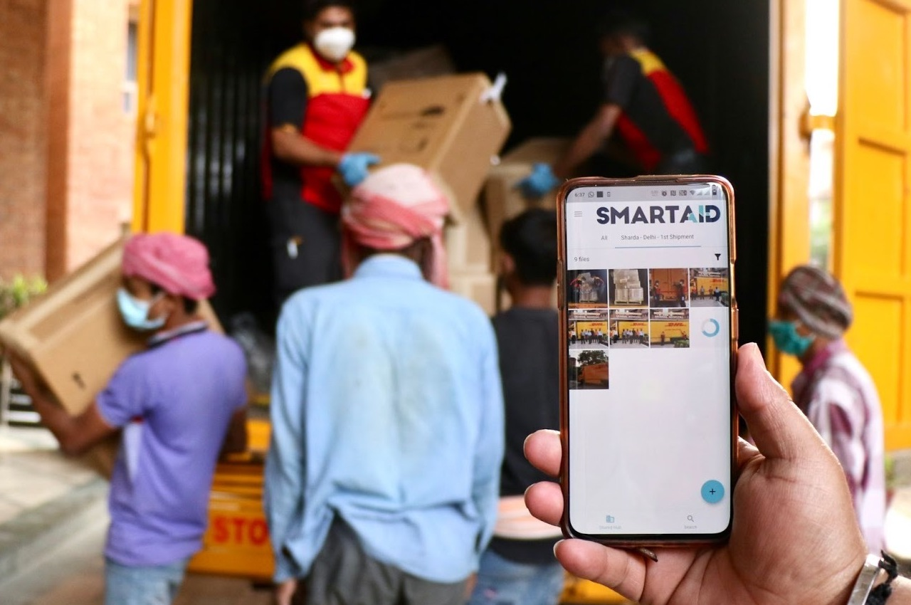 WizyVision DAC partnered with SmartAID for visibility of aid delivery